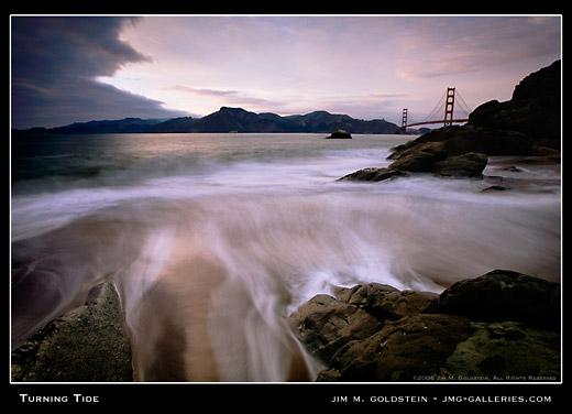 Turning Tide, landscape photo by Jim M. Goldstein